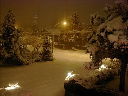 ულამაზესი თოვლი